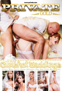 Seks tijdens de bruiloft in de film Cumshot weddings!